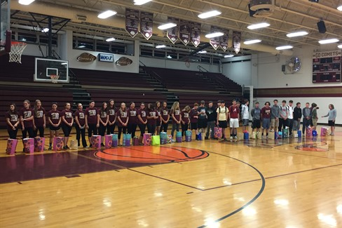 Softball send off to All- A! Baseball recognition!