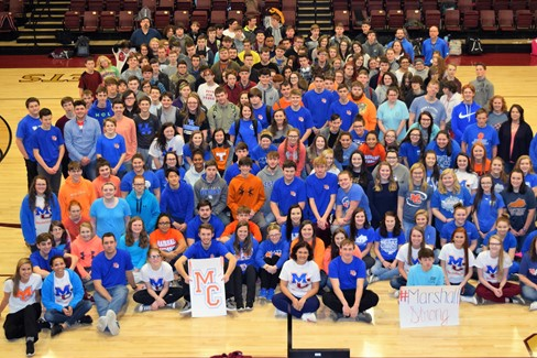 CCHS is #MarshallStrong