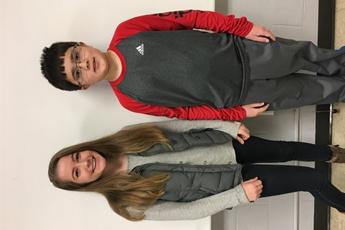 CCMS: Two academic team members headed to state competition after placing at Regionals!  Albert Terry: 4th in social studies and 5th in math.  Callie Carver: 2nd in writing composition