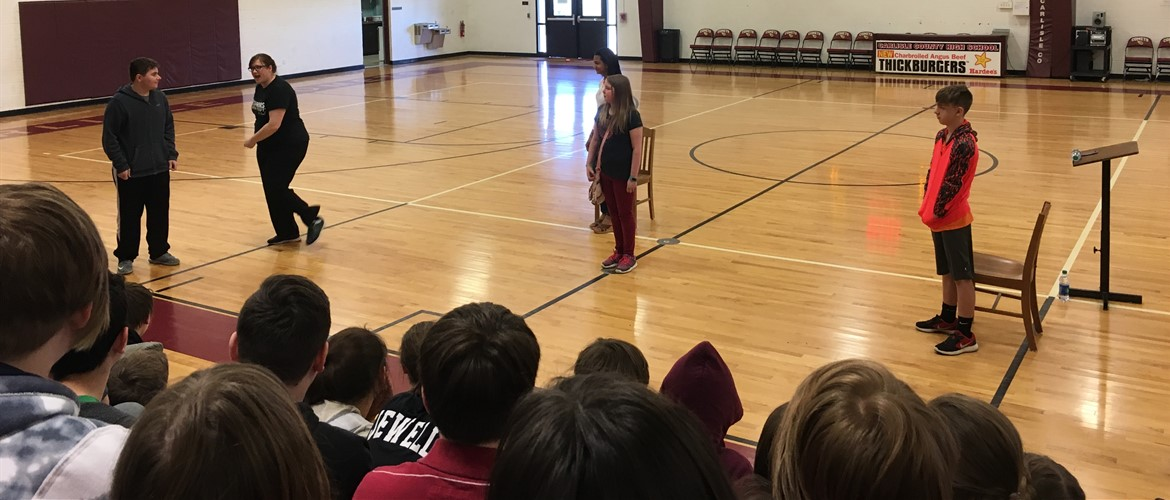 CCMS Poetry Alive Assembly on 4/12/18