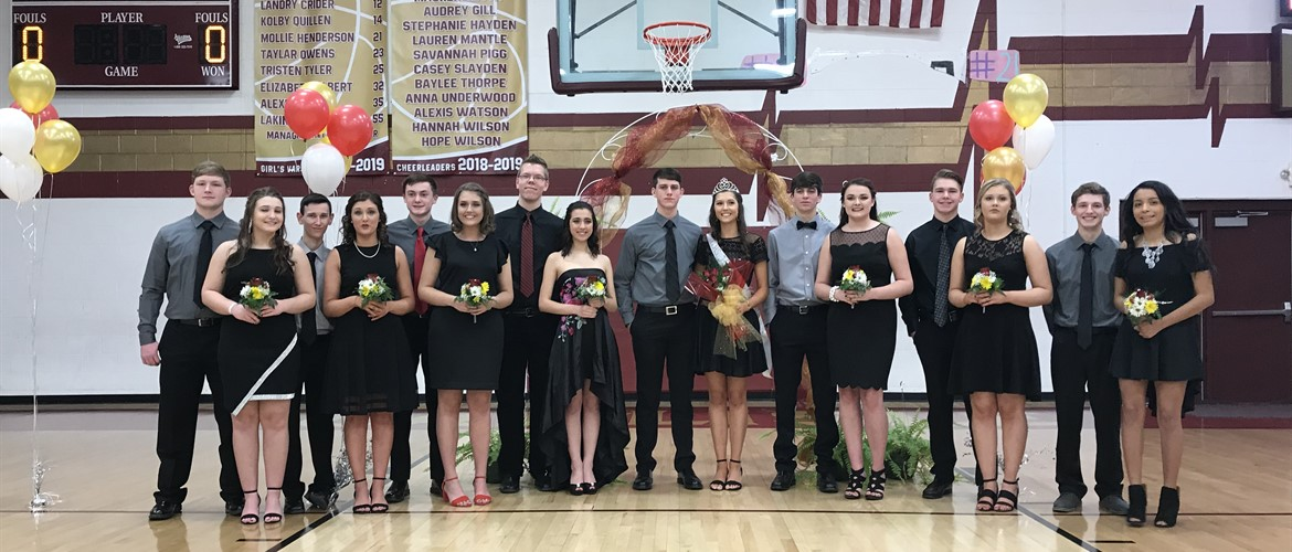 2019 CCHS Homecoming Court  - 1/26/19